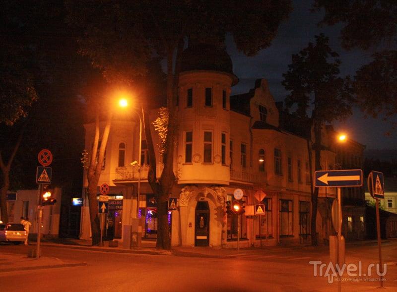 Ночной Даугавпилс / Фото из Латвии