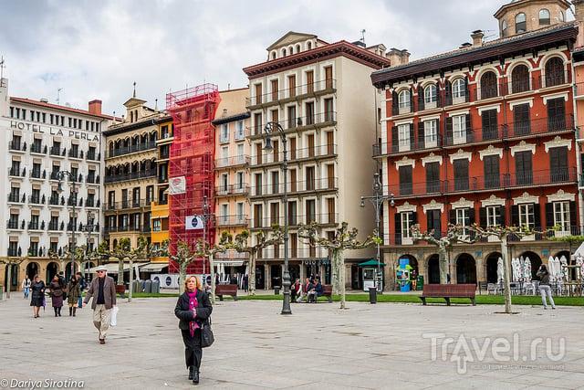 В городе Памплона, Испания / Фото из Испании