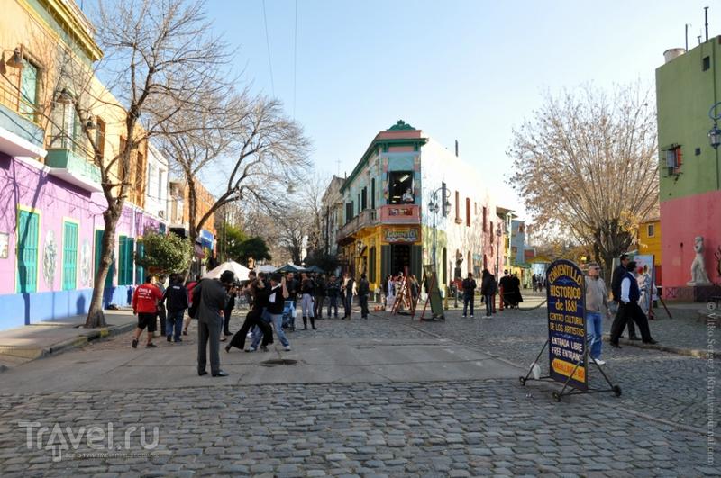 El Caminito в Буэнос-Айресе, Аргентина / Фото из Аргентины