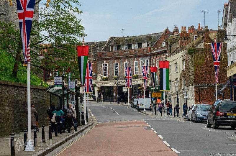 В городе Виндзор, Великобритания / Фото из Великобритании