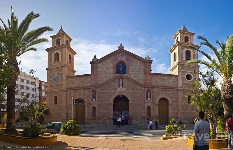 В городе Торревьеха, Испания / Фото из Испании
