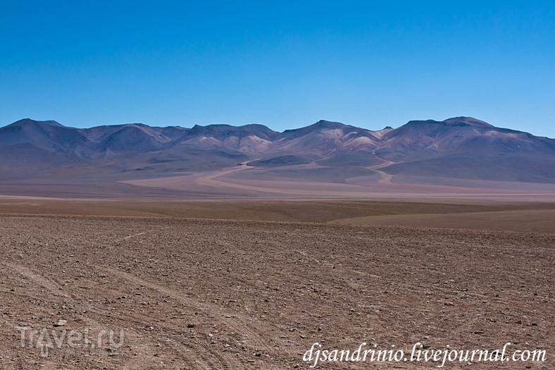 Dali Rock Desert (Каменная пустыня Дали), Бразилия / Фото из Боливии
