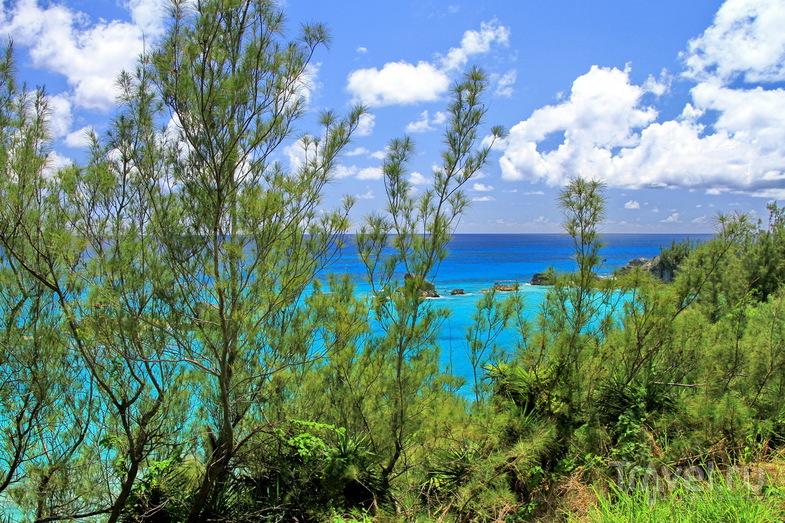 Пляж Warwick Long Bay, Бермудские острова / Фото с Бермудских островов