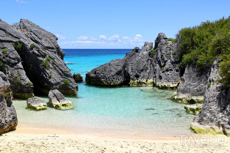 Пляж Jobson's Cove, Бермудские острова / Фото с Бермудских островов