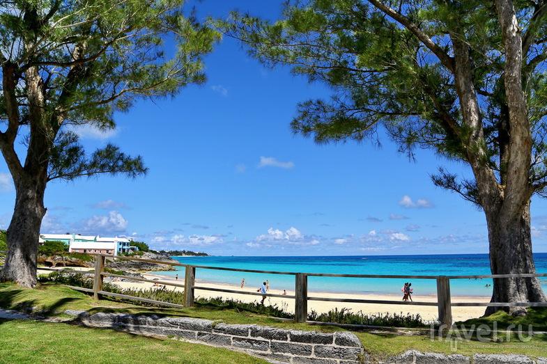 Пляж John Smith's Bay, Бермудские острова / Фото с Бермудских островов