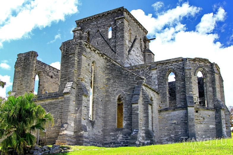 Церковь Святого Петра в Сент-Джордже, Бермудские острова / Фото с Бермудских островов