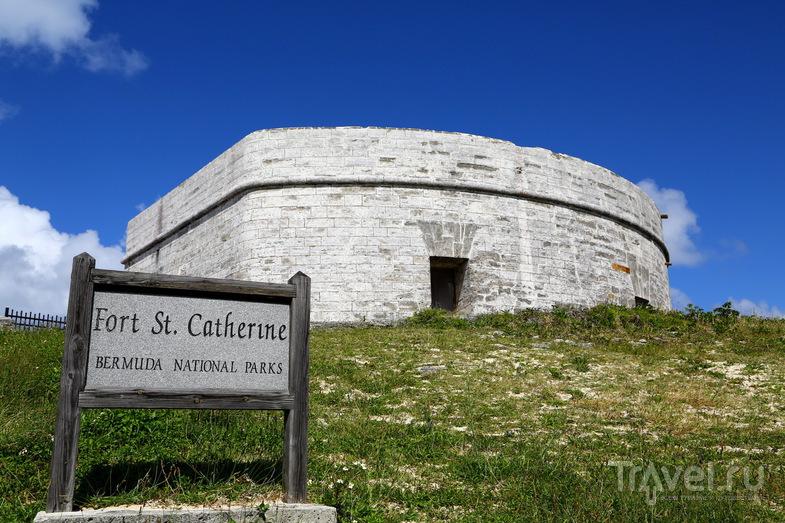 Форт Святой Катерины (Fort St Catherine) в Сент-Джордже, Бермудские острова / Фото с Бермудских островов