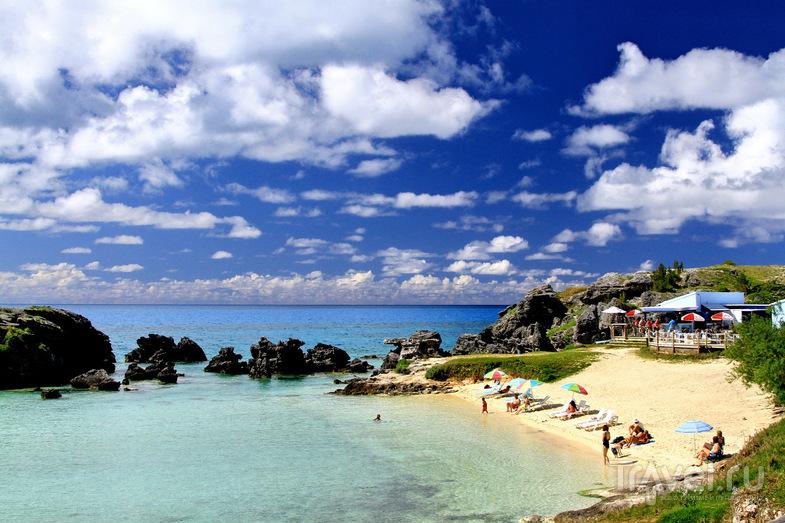 Пляж Tobacco Bay Beach в Сент-Джордже, Бермудские острова / Фото с Бермудских островов