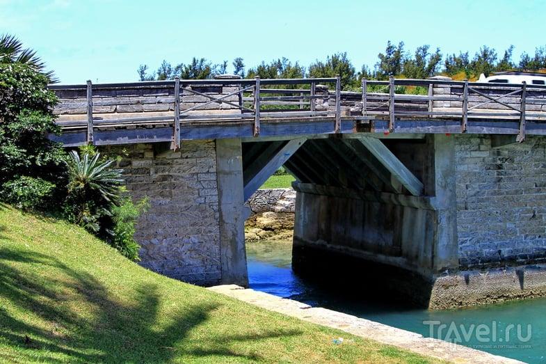 Мост Сомерсет в Сент-Джордже, Бермудские острова / Фото с Бермудских островов