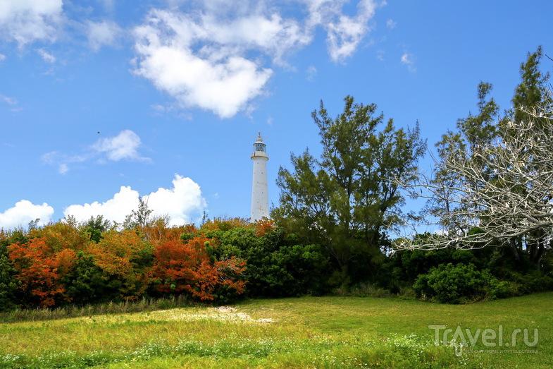 Маяк Gibbs Hill Lighthouse, Бермудские острова / Фото с Бермудских островов