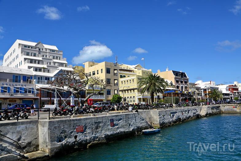 В городе Гамильтон, Бермудские острова / Фото с Бермудских островов