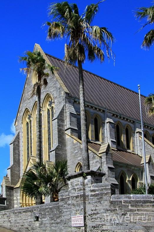 Кафедральный Собор Мост-Холи-Тринити (Cathedral of the Most Holy Trinity) в Гамильтоне, Бермудские острова / Фото с Бермудских островов