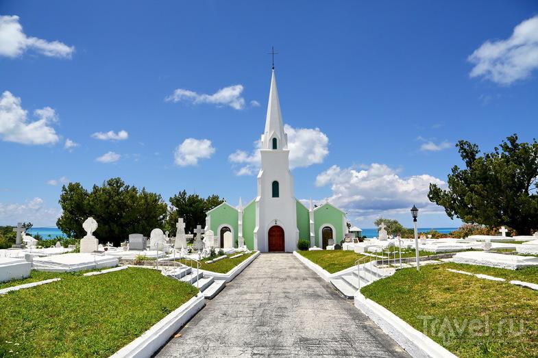 Церковь St. James Church в деревне Сомерсет, Бермудские острова / Фото с Бермудских островов