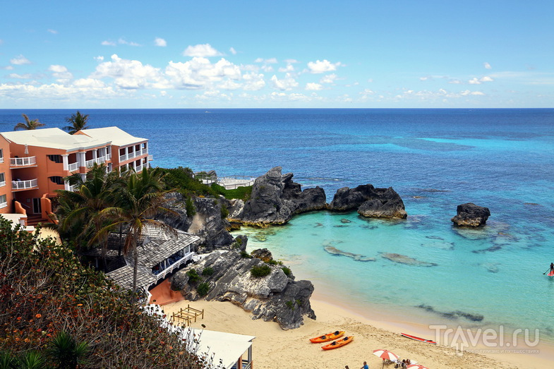 В отеле The Reefs Hotel and Club, Бермудские острова / Фото с Бермудских островов