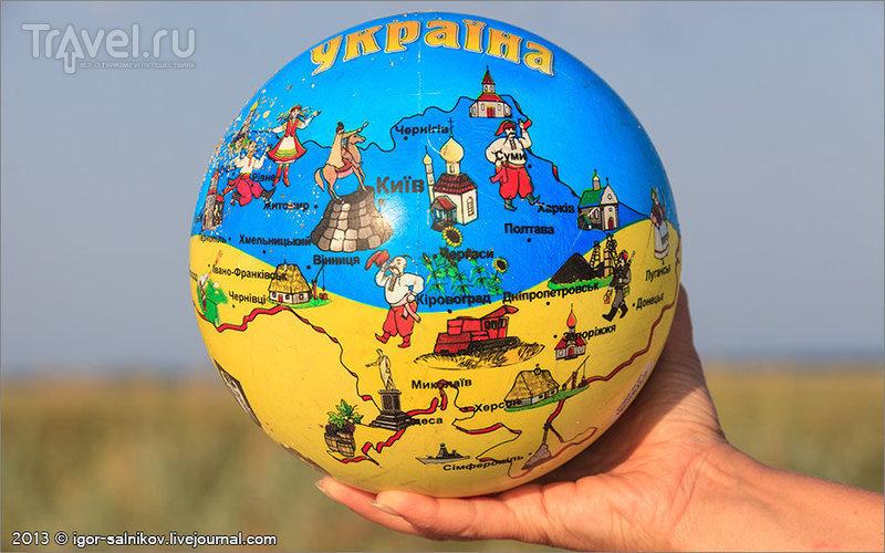 Велопутешествие по Арабатской стрелке / Украина