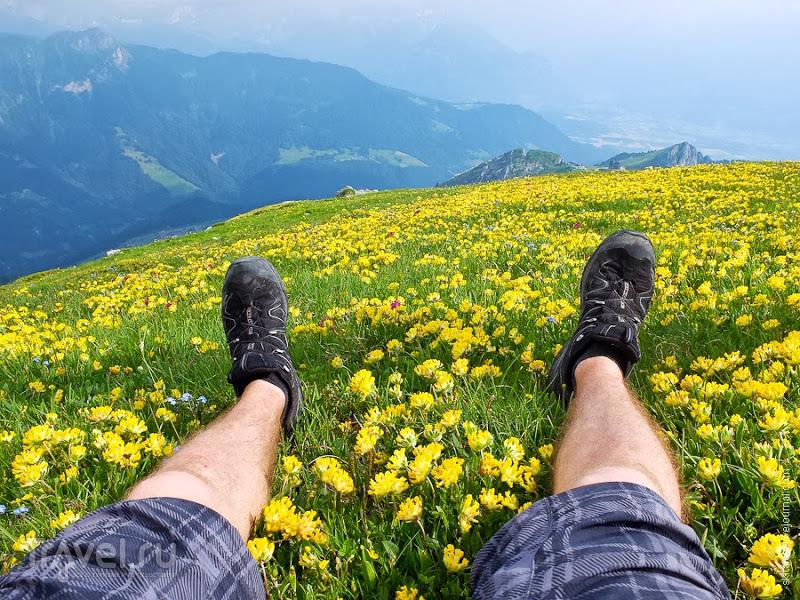 Скалолазание для чайников в швейцарских Альпах / Швейцария
