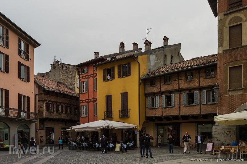 В городе Комо, Италия / Фото из Италии