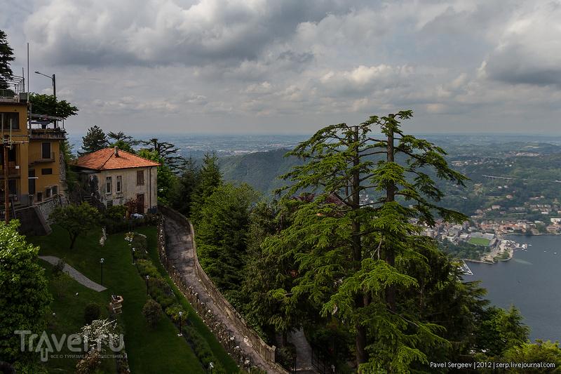 В деревне Брунате, Италия / Фото из Италии