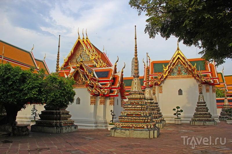 Храм Ват-По ( Wat Pho ) в Бангкоке, Таиланд / Фото из Таиланда