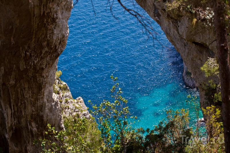 Arco di Naturale на Капри, Италия / Фото из Италии