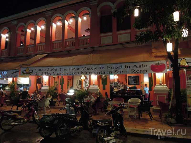 В городе Сием Риап, Камбоджа / Фото из Камбоджи