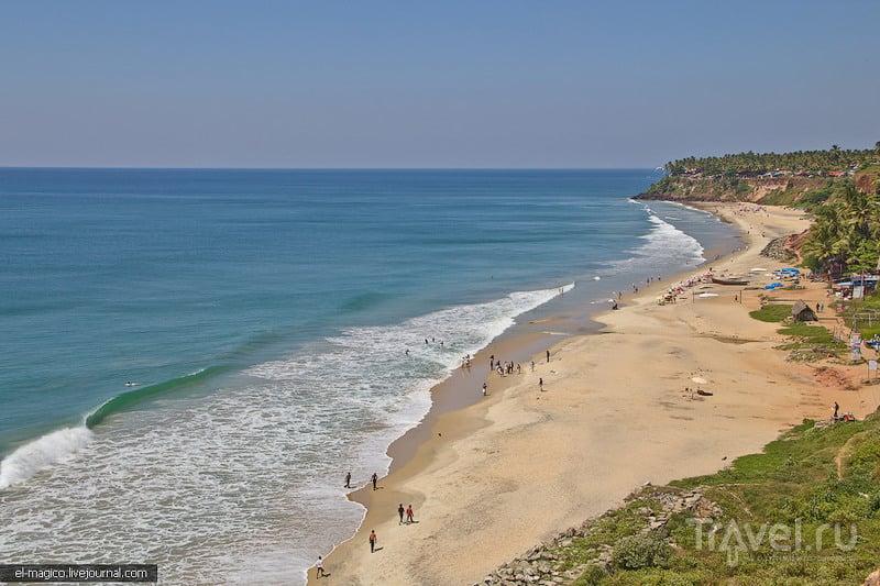 Varkala Cliff, Индия / Фото из Индии