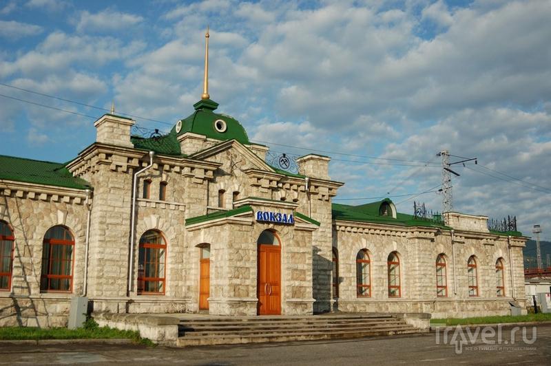 Слюдянский железнодорожный вокзал / Фото из России