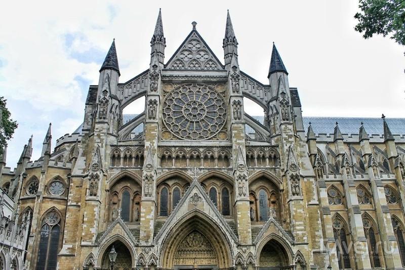 Вестминстерское аббатство в Лондоне, Великобритания / Фото из Великобритании
