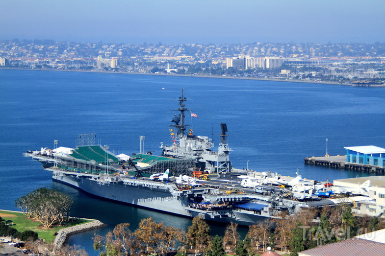 Авианосец Midway в Сан-Диего, США / Фото из США