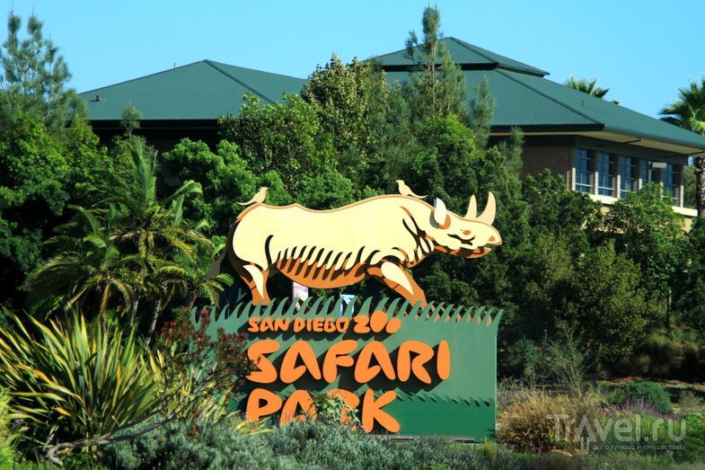 Сафари-парк в долине San Pasqual Valley в Сан-Диего, США / Фото из США