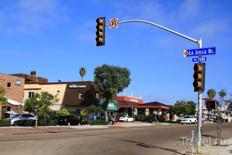Район La Jolla в Сан-Диего, США / Фото из США