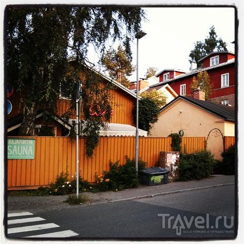 Про финскую сауну / Финляндия