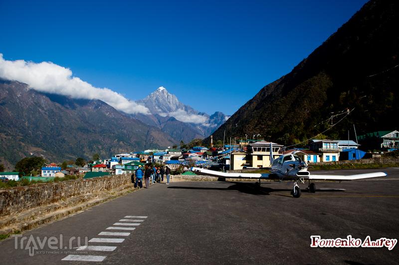 В аэропорту Луклы, Непал / Фото из Непала