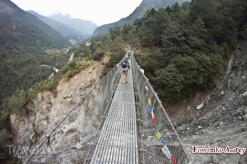Восхождение к базовому лагерю Эвереста. Непал / Фото из Непала