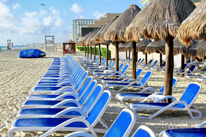 Мексика: Канкун пляжно-новогодний! / Фото из Мексики