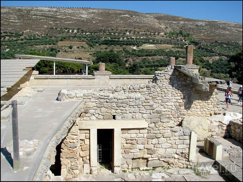 Кносский Дворец. Крит. Греция / Греция