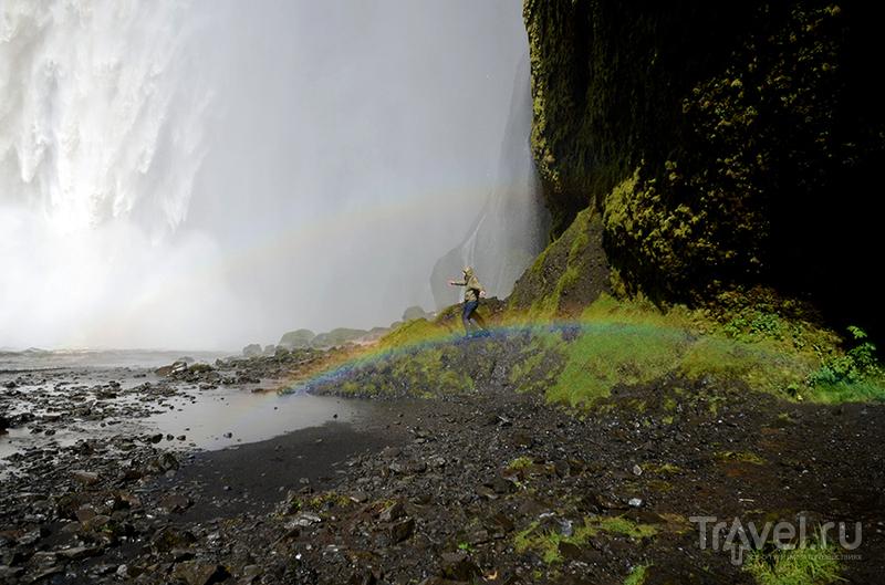 Исландия. Водопад Skogafoss / Исландия