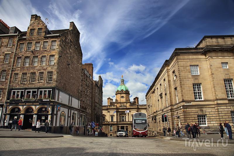 В городе Эдинбург, Шотландия / Фото из Великобритании