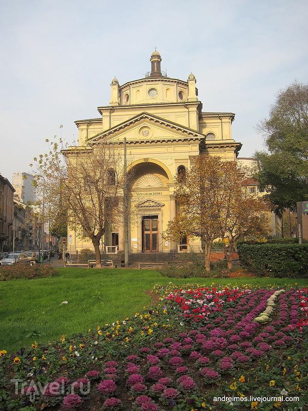 Церковь Св. Иоакима (Chiesa di San Gioachimo) в Милане, Италия / Фото из Италии