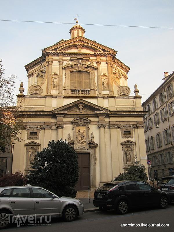 Церковь Св. Иосифа (Chiesa di San Giuseppe) в Милане, Италия / Фото из Италии