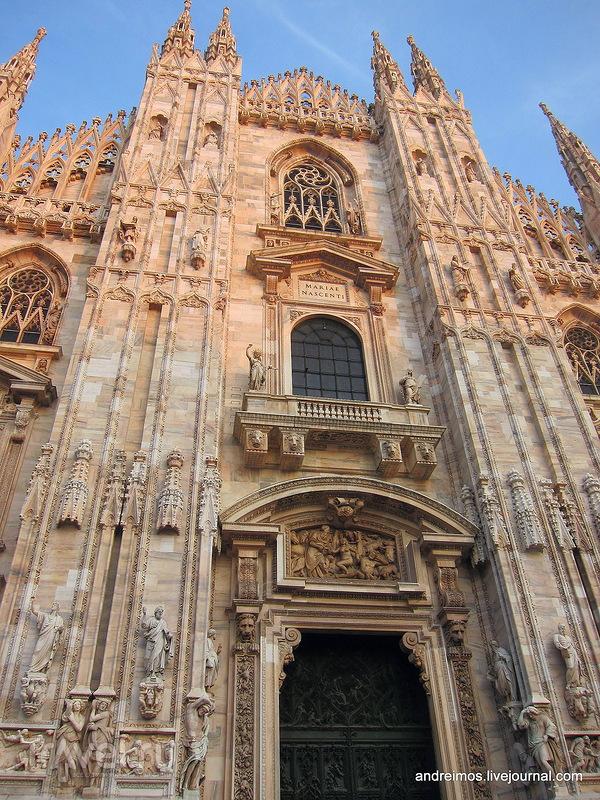 Миланский собор (Duomo di Milano) в Милане, Италия / Фото из Италии