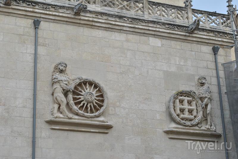 Кафедральный собор Святой Марии в Бургосе, Испания / Фото из Испании
