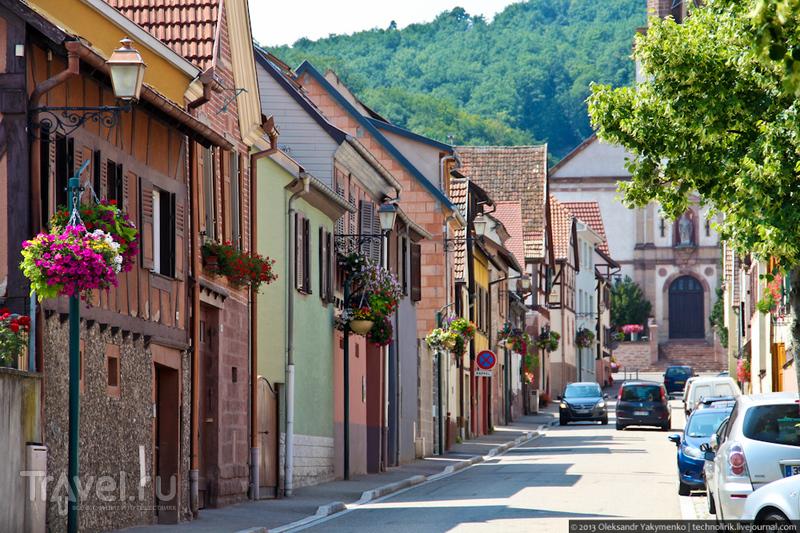 Деревня Kintzheim, Франция / Фото из Франции