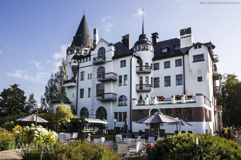 Замок-отель Valtionhotelli в Иматре, Финляндия / Фото из Финляндии