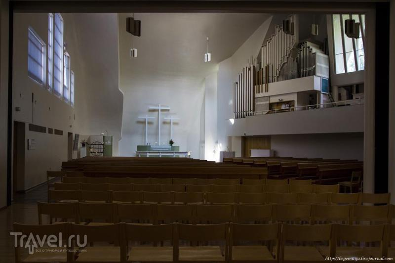 Церковный холм в Руоколахти на берегу озера Саймаа, Финляндия / Фото из Финляндии