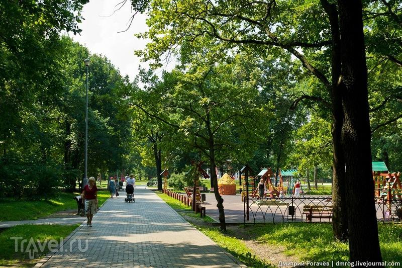 Воронцовский парк в Москве, Россия / Фото из России