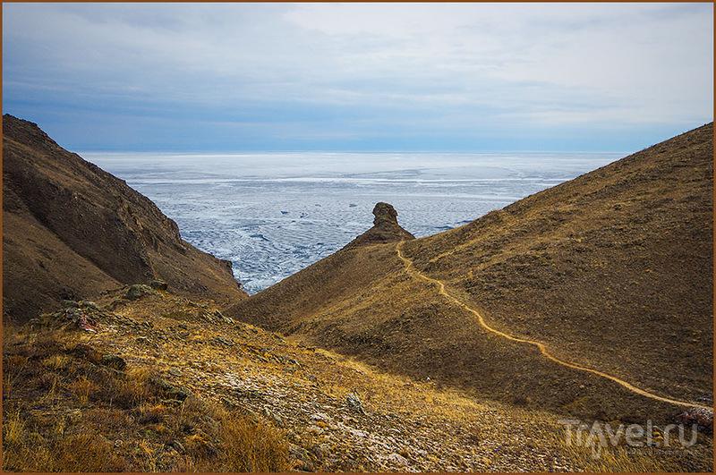 Южный Ольхон, скала Ангелов, Россия / Фото из России