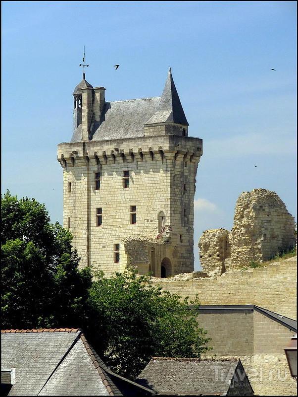 Шинонский замок, Франция / Фото из Франции
