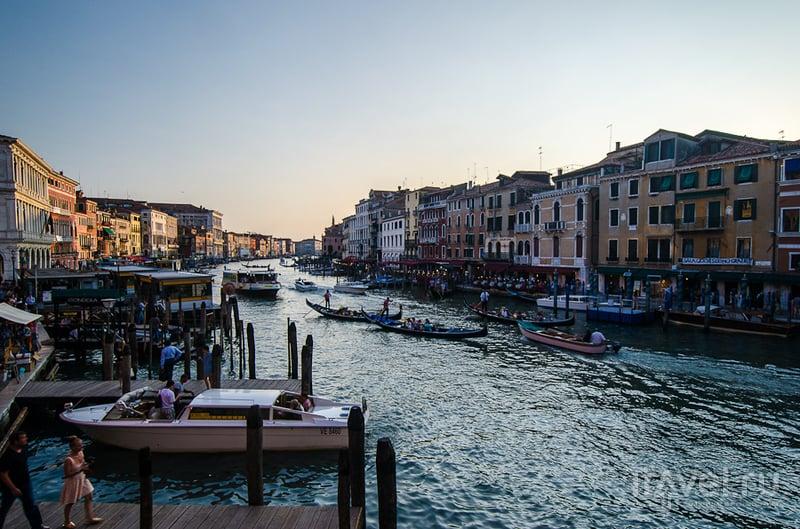 Гранд-канал в Венеции, Италия / Фото из Италии