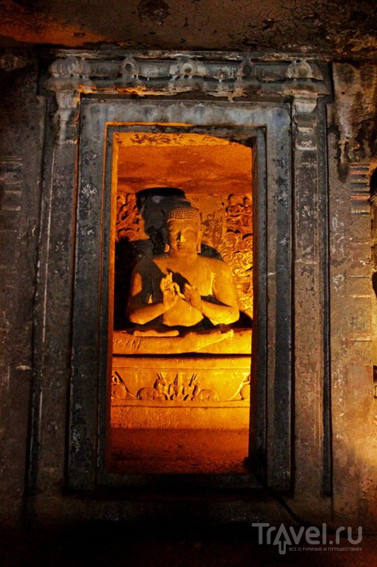 Пещерные храмы Аджанты, Аурангабад и практические советы / Фото из Индии